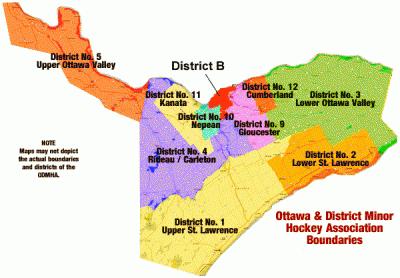 Hockey Eastern Ontario District Rics